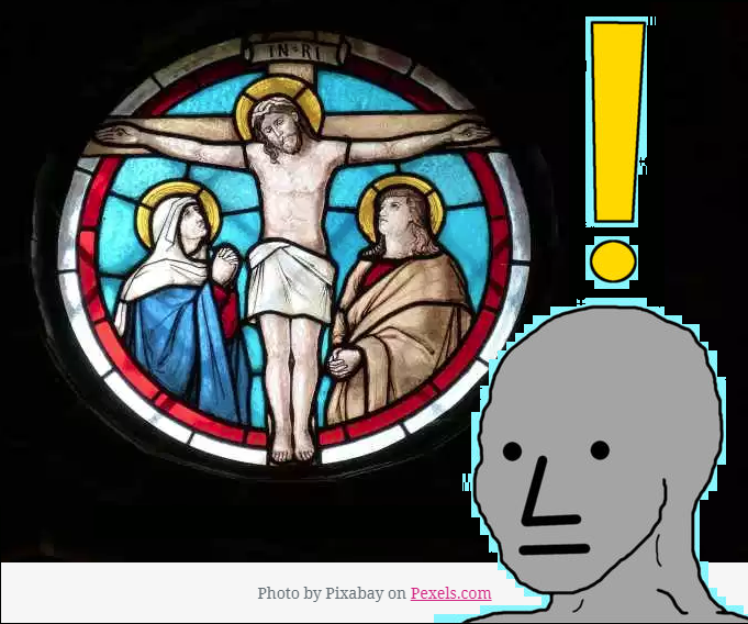 NPC woke jesus